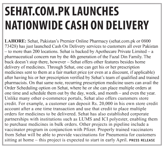 sehatpk-tcs-tranzum-nationwide-cash-on-delivery-medicines-for-all-pakistan-zindabad